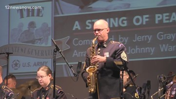 'Jazz Ambassadors' of US Army Field Band perform in Port Arthur