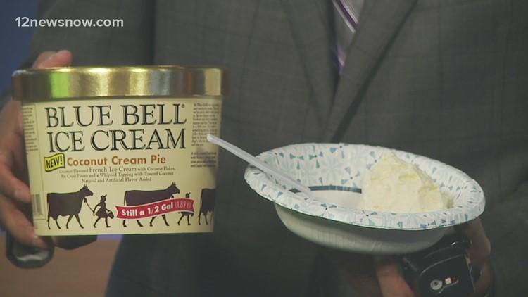 Blue Bell releases new Coconut Cream Pie flavor