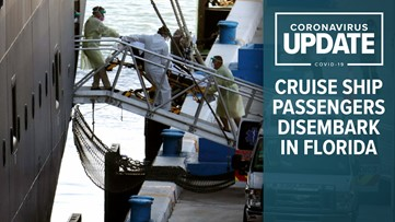 COVID-19 updates: US death toll passes 6,000; cruise ship passengers begin disembarking in Florida