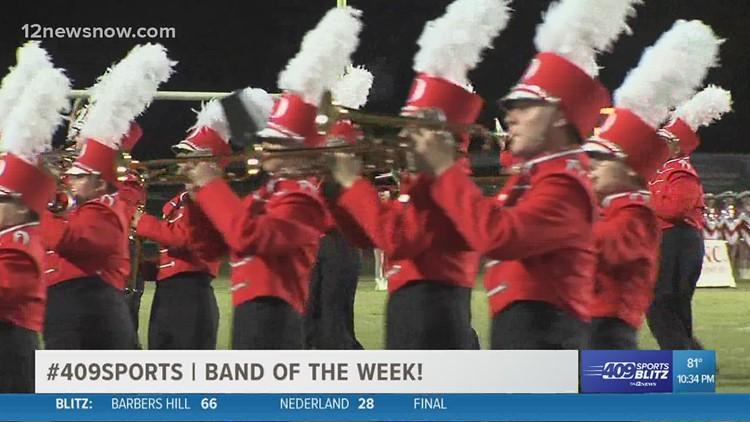 Orangefield is the week 9 Band of the Week
