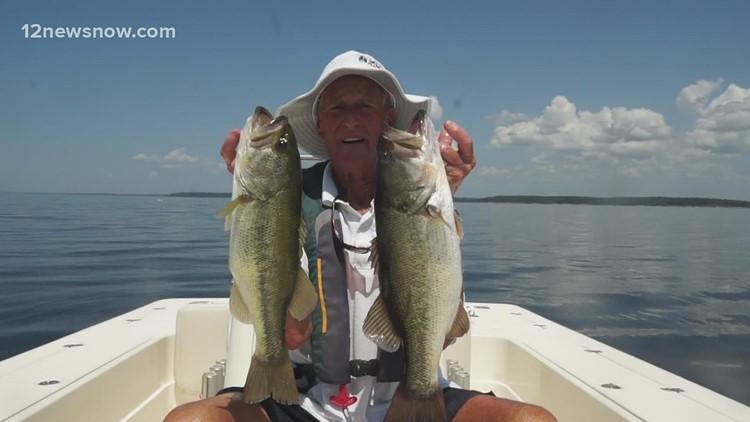 Carolina rigs and deep water equal great fishing