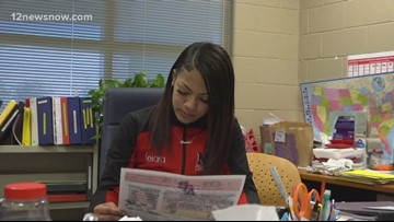 Star Student Keiara encourages others, wants to create beauty