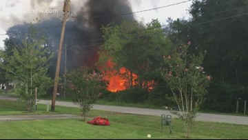 'Total loss': Pinehurst family loses everything in fire