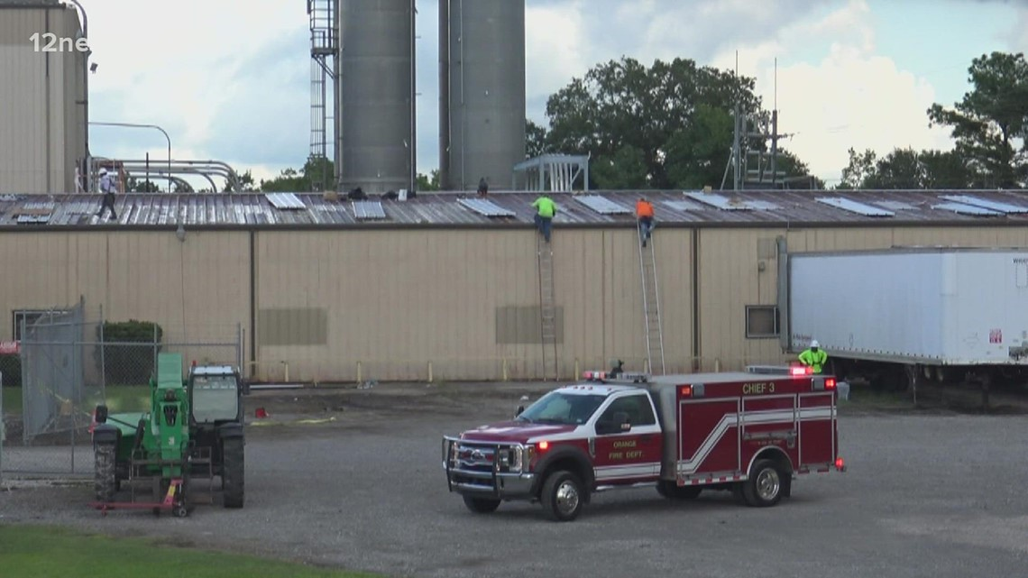 Man falls from roof of Orange business building Tuesday morning