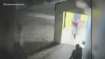Two people caught on camera running near Magnolia Park near where a 17-year-old was killed