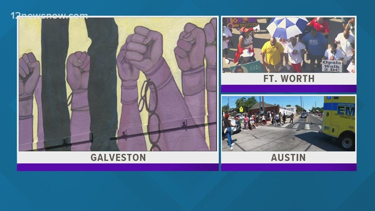 Juneteenth celebrated across Texas with new, deeper meaning