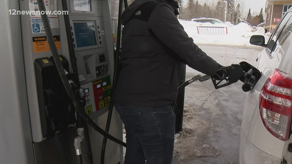 Gas shortages impacting Texas as oil wells, refineries sit frozen due to winter storm
