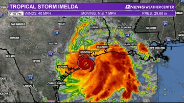 Orange, Jefferson Counties offering sandbags for possible flooding from Imelda