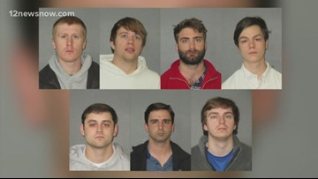 Nine LSU students accused of hazing are arrested after a students death two years ago