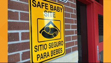 One day old baby girl left at Jefferson County ESD No. 3 Fire Department this weekend