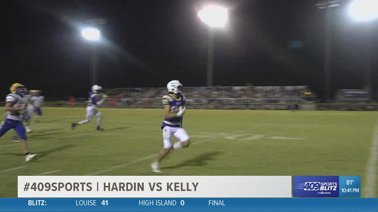 Kelly pushes past Hardin High School 40 - 37