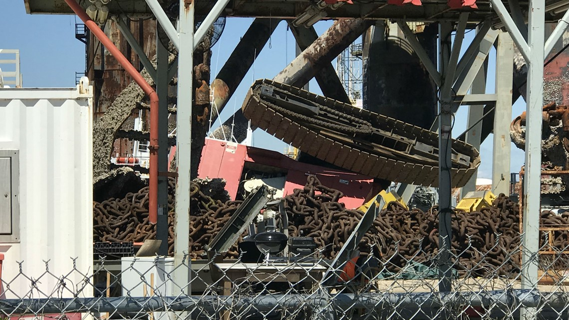 One injured after crane accident in Sabine Pass shipyard ...