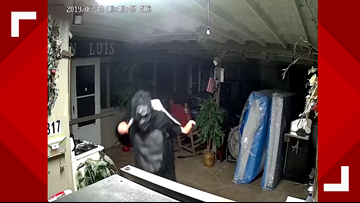 Burglar in gorilla suit hits home in Groves