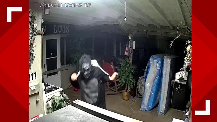 Gorilla suit burglar