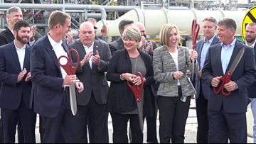 ExxonMobil holds ribbon cutting for polyethylene plant expansion in Beaumont