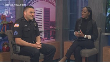 Lunch with the Chief: Sgt. Cody Guedry on headlight rules, guns in cars, becoming an officer