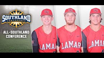 Three Cardinals grab all conference baseball honors