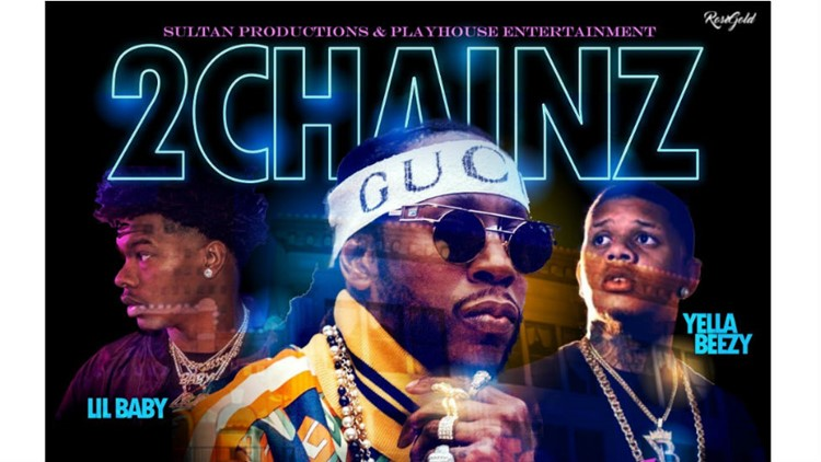 Atlanta-based rapper 2Chainz will make a stop at Ford Pavilion in Beaumont later this year.