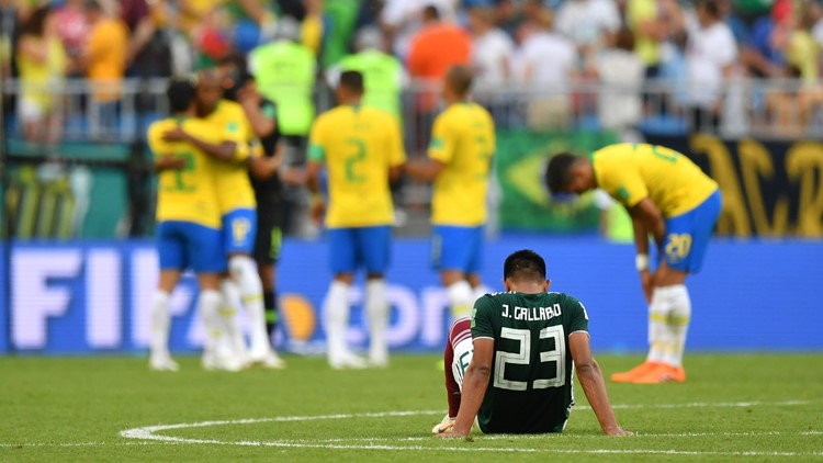 Mexico's World Cup campaign ended in familiar fashion on Monday, with a 2-0 defeat to Brazil in the round of 16.