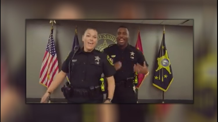 The Chesapeake Sheriff's Office is the latest law enforcement agency to take on the #LipSyncChallenge.