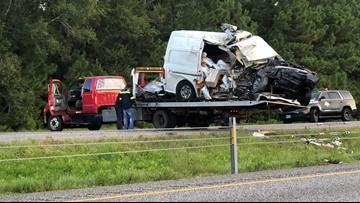 Fatal wreck shuts down westbound lanes of Interstate 10 west