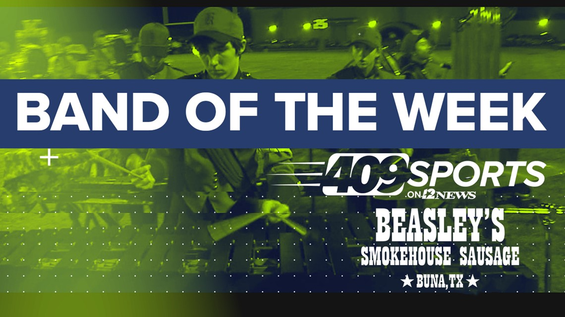409Sports' Band of the Week for week 9 has Woodville High School taking on Orangefield