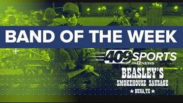 409Sports' Band of the Week for week 8 has the Barbers Hill High School band up against the Vidor band
