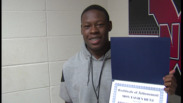 Jasper Running Back Montavien Hunt named 12 Star Athlete of the Week