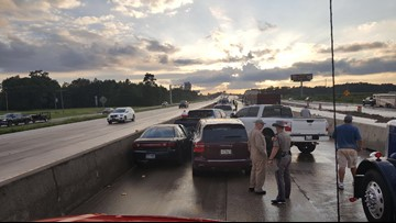 DPS Troopers investigating multiple accidents on I-10 in