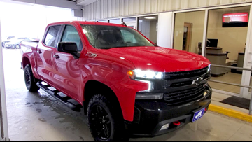 12News test drive takes out a 2019 Chevrolet Silverado Z71 Trail Boss Edition