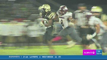 WEEK 8: Nederland High School's Josh Mazyck makes the week 8 Play of the Week