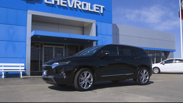 We're taking a new 2019 Chevrolet Blazer out for a 12News Test Drive