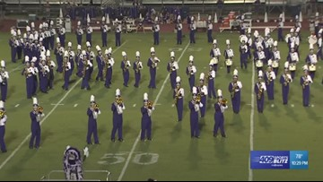 Week 1 Band of the Week goes to the Port Neches-Groves 'Purple Pride'