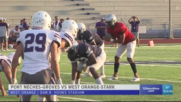 West Orange-Stark finds the end zone twice in scrimmage with PNG