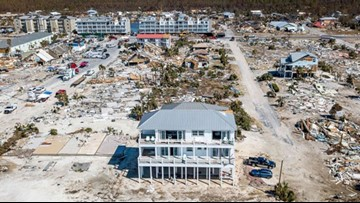 Mexico Beach home survives Hurricane Michael virtually untouched