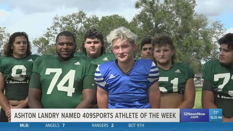 Ashton Landry named 409Sports Athlete of the Week