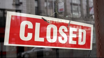 LIST: Businesses impacted by coronavirus, temporarily closed in Southeast Texas