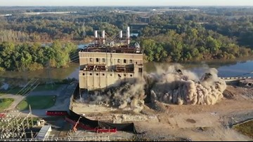 VIDEO: Duke Energy Implodes Its First Coal Plant in Salisbury