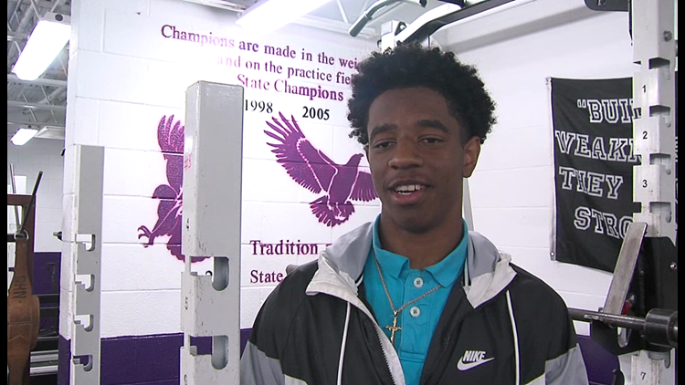 Josh Foster from Newton named 12 Star Athlete of the Week