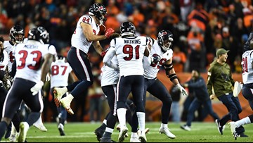 Thomas wins homecoming as Texans escape Denver 19-17