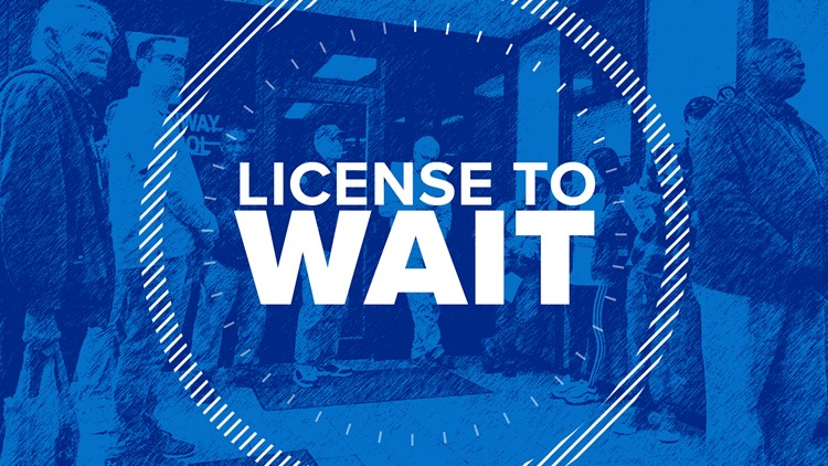 12News Investigates: Long lines issue a 'License to Wait' at Texas DPS offices