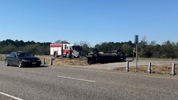 Major wreck forces one-hour closure of westbound lanes of interstate 10 west of Beaumont