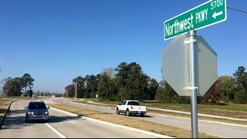 Northwest Parkway opens to drivers, connects mall to North Major Drive