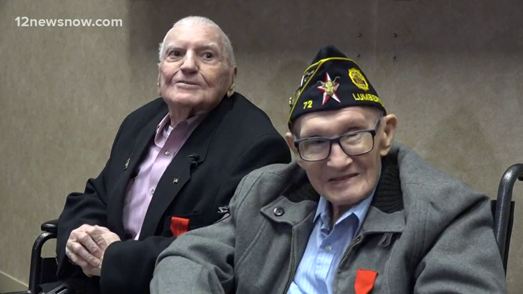 Two Southeast Texas WWII veterans awarded France's highest honor