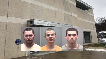 Inmate's Plot to Blow Up Alamance Co  Jail Foiled When