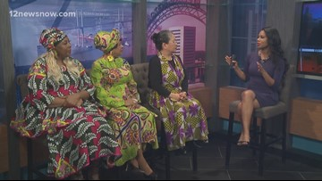 Naomi's Fashions offers African-inspired outfits for Black History Month