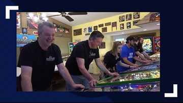 Beaumont family, AKA 'Pinball Mafia,' proves vintage game is still rolling