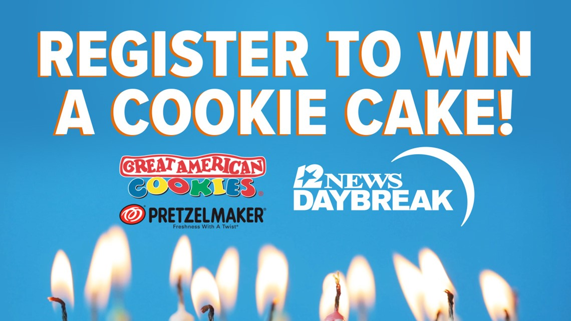Celebrate a birthday on 12News Daybreak, enter to win a birthday