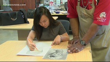 Star Student wows Memorial High School art teacher