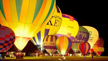 Hot air balloons to make glowing visit to Mardi Gras Southeast Texas